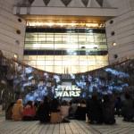 横浜ドッグヤードガーデンのスターウォーズのプロジェクションマッピングを見てきたので感想を書くよ!