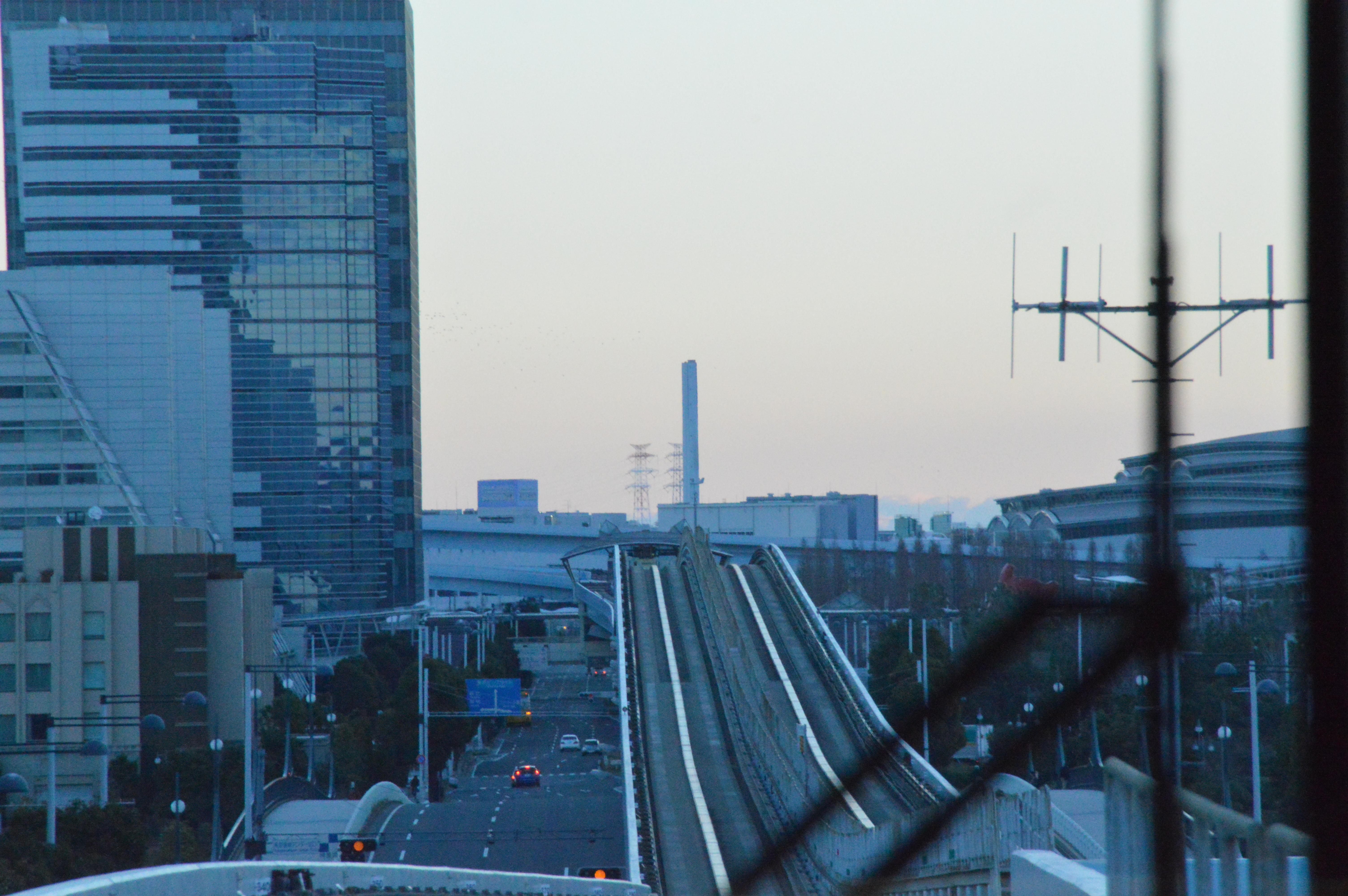 東京・お台場の初日の出スポットはテレコムセンターが暖かくてオススメですよ